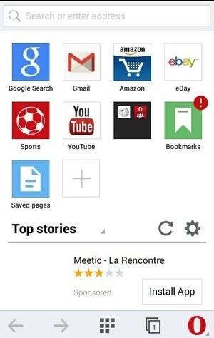 Opera mini Mod Screenshot 3