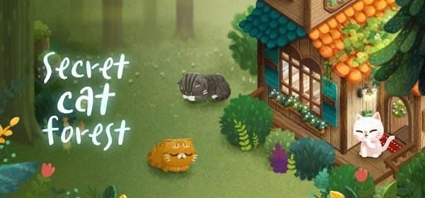 Secret Cat Forest Logo