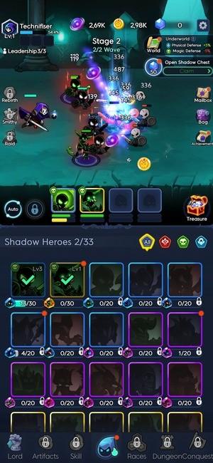 Shadow Knights Screenshot 3