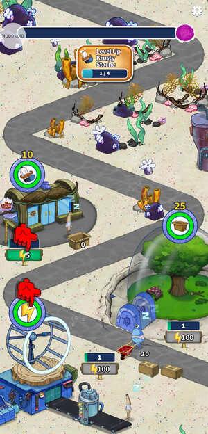SpongeBob's Idle Adventures Screen 1