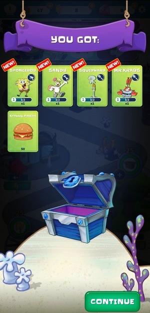 SpongeBob's Idle Adventures Screen 2