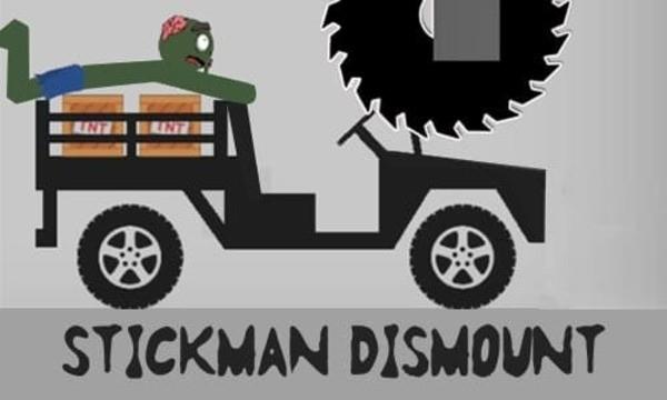 Stickman Dismounting Logo