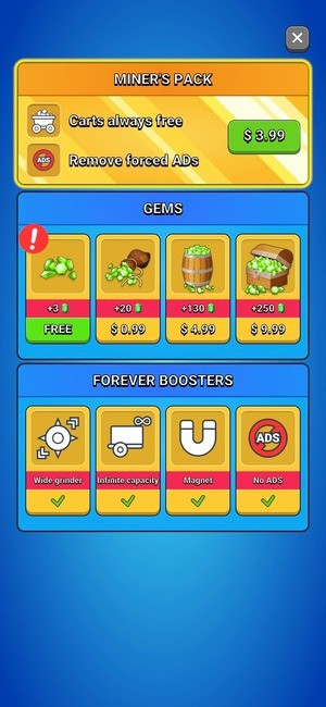 Stone Miner Mod Screenshot