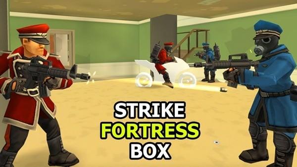 StrikeFortressBox Logo