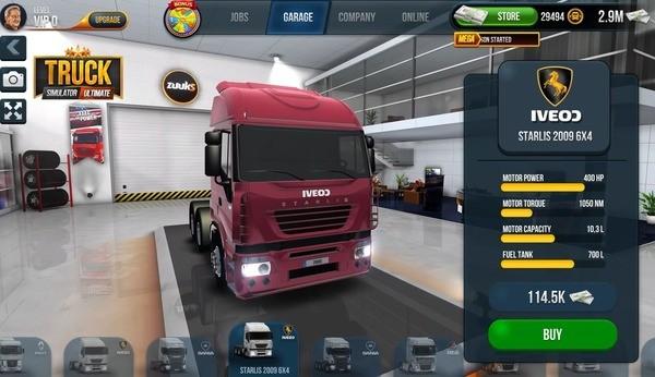 Truck Simulator Screenshot 1