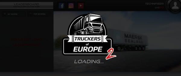 Truckers of Europe 2 Logo