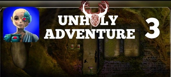 Unholy Adventure 3 Logo