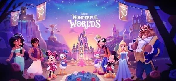 Disney Wonderful Worlds Logo