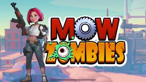 Mow Zombies Logo