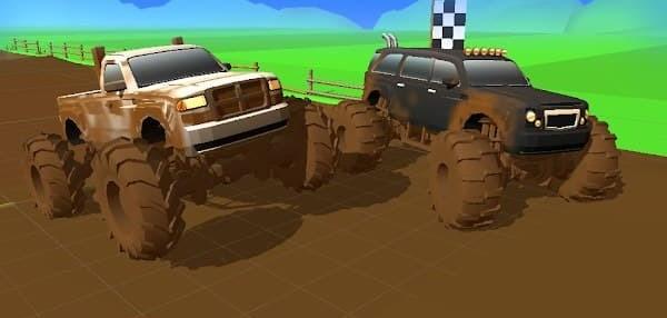 Mud Racing Logo