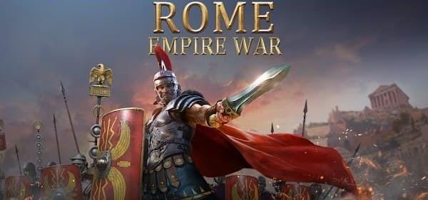 Rome Empire War Logo