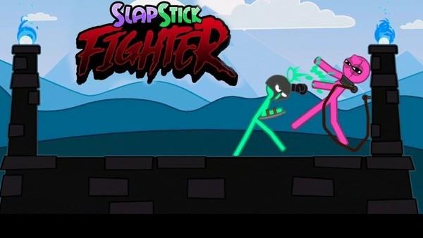 Slapstick Fighter Logo